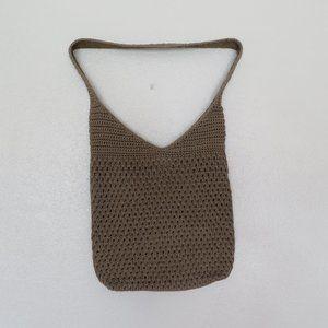 SAK  CROCHET HOBO SHOULDER BAG BUCKET